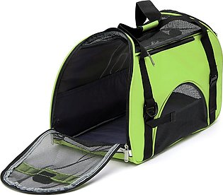 Protable Large Dog Cat Pet Carrier OxFord Soft Sided Comfort Tr