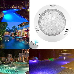 AC12V 35W 360LED RGB Waterproof Pool Light Multicolor Underwater Lamp with Remo…