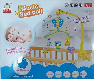 Musical Mobile Bed Bell For Baby Toy - Multicolor