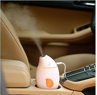 Mango Timing Humidifier USB Vehicle Mute Moisturing Device with LED Lights