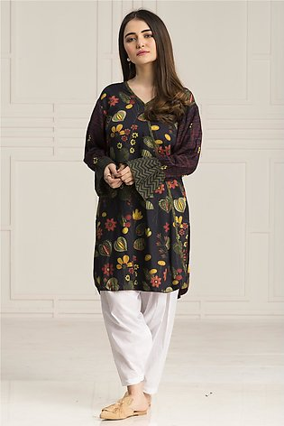BTW Stitched Persian Night Casual Printed shirt