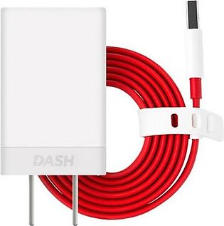 OnePlus Dash Charger Power Adapter [5V 4A] + USB Type C Fast Charging Cable 1M …