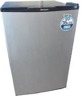 Dawlance Refrigerator 9101 R - Bedroom size single door - Silver