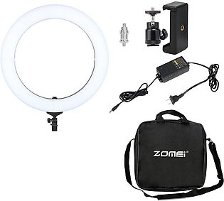 Dimmable Led Ring Light Long Service Life 5500K Photography Photo Light Lamp