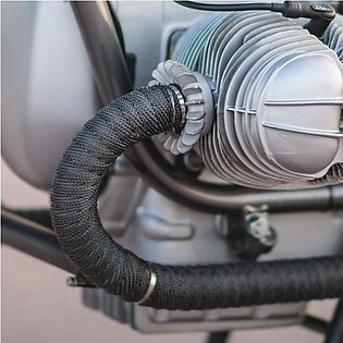 Motorcycles Exhaust Front Pipe Anti-hot Wrap Heat Manifold Insulation Cloth Roll