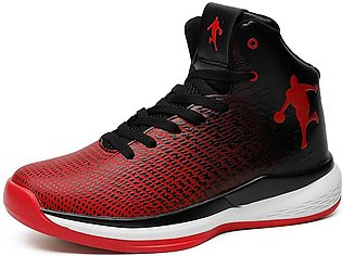 Mens Basketball Shoes High Tops Sneakers Athletic Trainers Shoes, Durable For I…