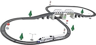 Kids Rc Trains Model Electric Train Set Trains Children's Railway Set Train T...