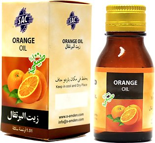 Orange oil - 30ml herbal oil for skin, health and aromatherapy