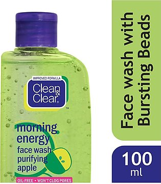 Clean&Clear Morning Energy Apple Face Wash 100Ml