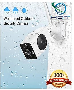 VR Panoramic 2 MP Full HD Weatherproof Outdoor Mobile Phone Remote Monitoring IP Camera (QTY-5) ( A)
