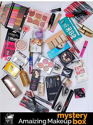 Amazing Makeup Mystery Box - 8 Items - Products Worth Rs. 1200/=