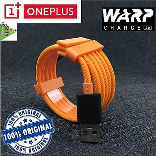 Oneplus Original Dash Warp 30 Charger cable Mclaren 6A Fast Nylon quick charg...