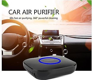 Intelligent Car Air Purifier PM2.5 Formaldehyde Remover Negative Ion Air Purifier Home Office