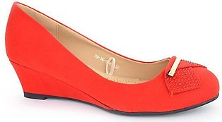 Hush Puppies - SS-WG-0062 - Red Closed Formal for Women