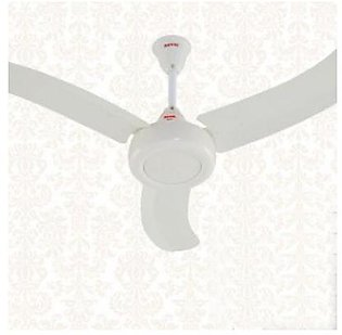 Royal Fans Ceiling Fan - Noble Model 56'' - Curved Stylish Wings - Copper Winding - White