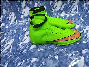 MEN FOOTBALL SHOES HIGH TOP SPIKE SOCCER SHOES