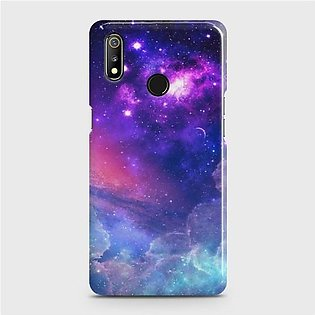 Realme 3 Pro Cover - Skinlee Hq Hard Case - Galaxy World - Skinlee-547-1-484-336