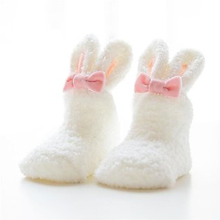 Newborn Infant Baby Boy Girl Anti Slip newborn Cotton Slipper Boots Sock DFL
