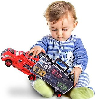Kids Car Toy Truck with 6 Small Cars