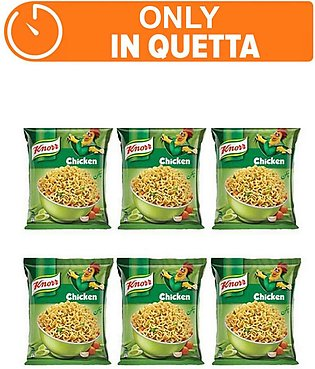 Knorr Noodles Chiken pack of 6 (One day delivery in Quetta)