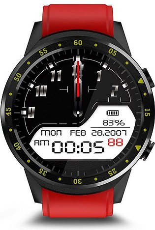 F1 Smart Watch ph one Function Heart Rate Monitoring Dual Camera Sports Watch