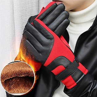 Speeding Motorbike Motorcycle Racing Sports Gloves Protective Warm Knuckles T...