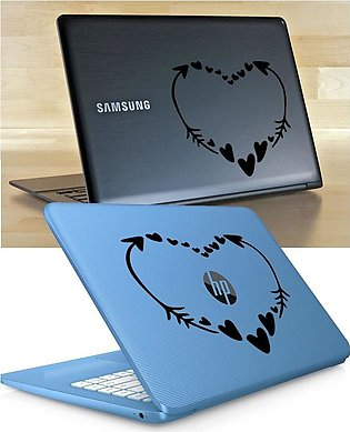 HEART FRAM Laptop Skin / Sticker, Removable