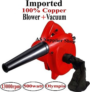 Electric Dust Blower and Vacuum Cleaner