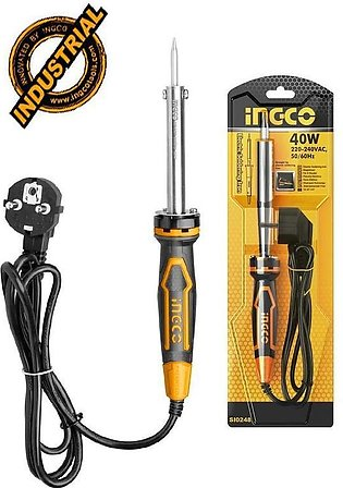 INGCO Professional Industrial Electric Soldering Iron 40W