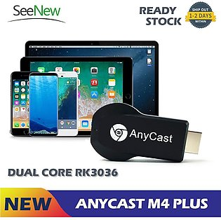 AnyCast M4 Plus 1080P 3D WiFi Wireless Display Receiver Dongle HDMI TV Miracast…