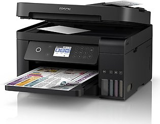 EPSON L6170 WI-FI DUPLEX ALL-IN ONE INK TANK PRINTER (4 COLOR, A4+ SIZE, PRINT,…