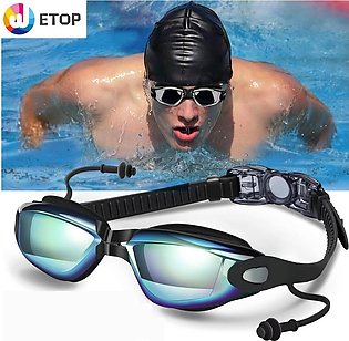 Goggles with Mirrored & Clear Anti-Fog Waterproof UV 400 Protection Lenses