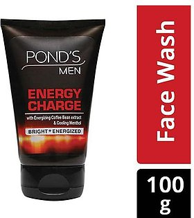 ponds men energy charge face wash 100 gm