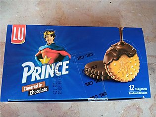 Prince Double Chocolate Biscuit -12 Pieces