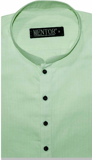 AA Lemon Green Lining Cotton Kurta