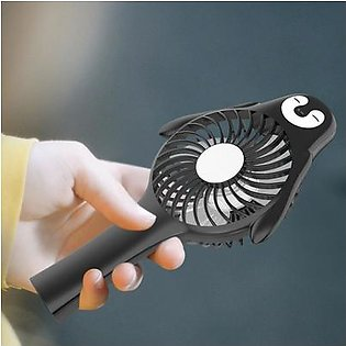 Portable Penguin Shape Desk Fan Rechargeable Handheld Air Cooling Fans for Home Outdoor Travel