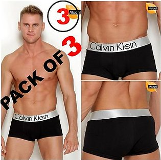 Pack of 3 Underwear For Men's Briefs for Boys For Innerwear Knicker Pajamas Good Stuff For Wearing Underpant Trousers Gym Sleeping And Bathing