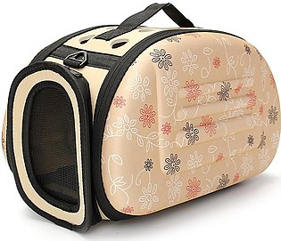 happy-island  Portable Small Pet Dog Cat Sided Carrier Travel Tote Shoulder Bag…