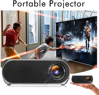 【Special Offer】Mini Portable Home Cinema LED 3D Projector Multimedia Wireless...