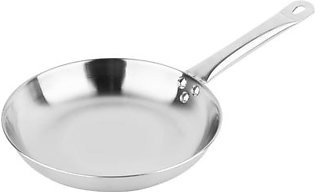 24 cm Thick Stainless Steel Non-Stick Coating Pan with Helper Handle Saute and Frying Pan induction cooker oven or gas
