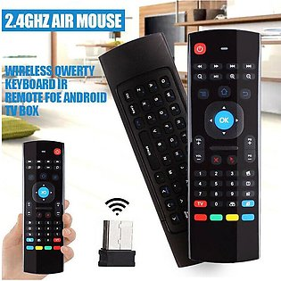 Universal MX3 Air Mouse Keyboard Remote For M8s MXQ H96 X96 mini Android TV Box…