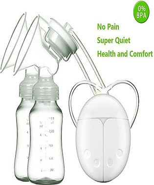 ANGEER - Double Electric Breast Pump Mimics Natural Breastfeeding