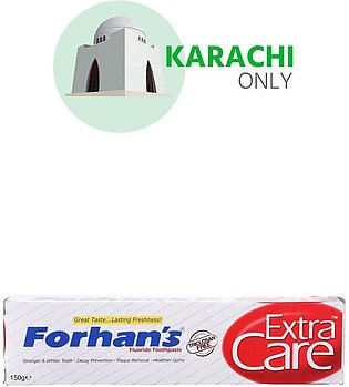 Forhan's Extra Care Fluoride Tooth Paste 150g