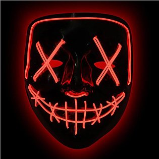 Halloween Cosplay El Wire Mask Up Funny Mask The Purge Election Year Great