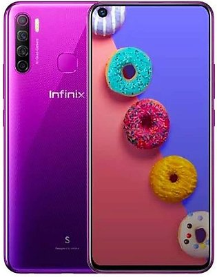 Infinix S5 - 32MP In-Display Selfie Camera & 6.6 inch Punch hole display - 6G...