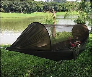 The old tree Portable Outdoor Camping Mosquito Net Hammock Hanging Swing Sleeping Bed Max Load 200kg