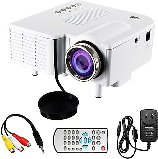 1080P HD LED Mini Projector Multimedia Home Theater Cinema AV VGA SD USB HDMI...