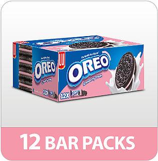 Oreo Strawberry Biscuits (Pack of 12)