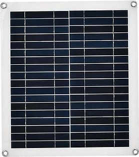 25W New Flexible Polycrystalline Solar Panel Charger Outdoor Waterproof