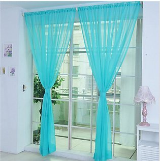Modern Design Solid Color Curtain Panel Curtains for Home Kitchen Living Room